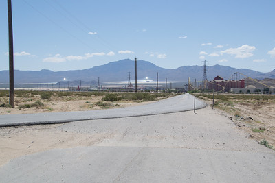 The solar Powerstation at Primm