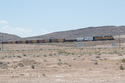 UP 1615 and 1632 switching at Apex, NV