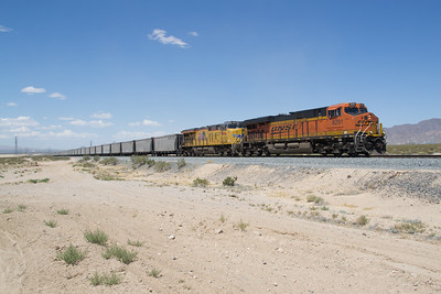BNSF 8291 is in California, just south of Primm, NV
