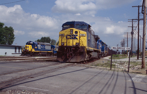 Railroads around Toledo and Detroit - 1999 & 2000