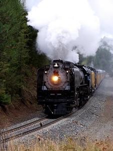 Union Pacific Locomotive # 844 Spring Creek, Oregon