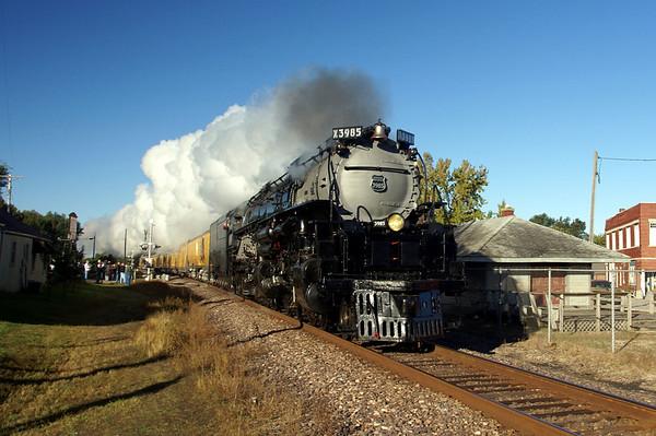 Union Pacific 3985 Missouri River Eagle 2010