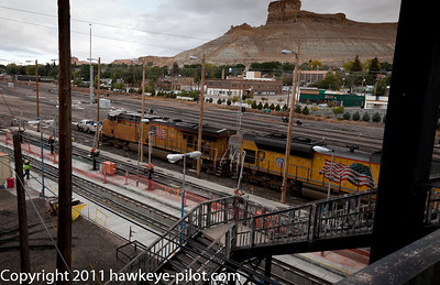 Union Pacific's Yard at Green River, Wyoming
