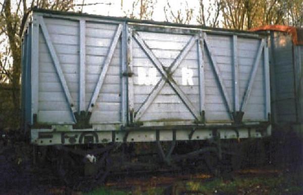 1109 MR Non Vent Van Plank - Chasewater Railway 01.11.96  John Robinson