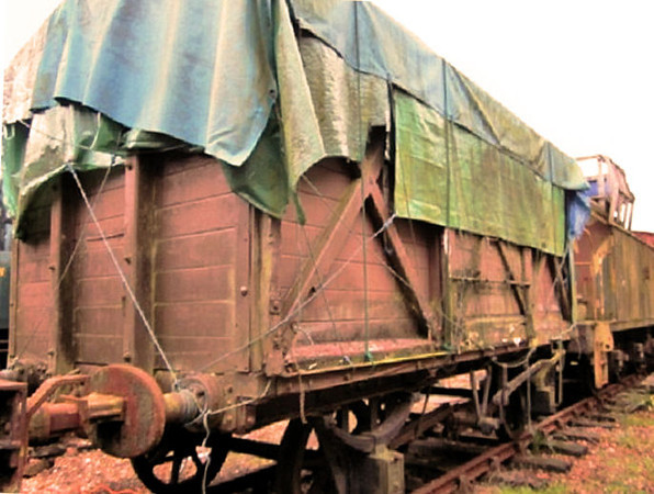 8112 LSWR Vent Van Plank - Bluebell Railway 23.01.11  Ben Williams