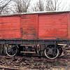 20 NER Non Vent Van Plank 'Box Van' - Embsay & Bolton Abbey Railway 01.03.93  John Robinson
