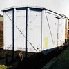 341  LNWR Non Vent Van Plank 'Box Van' - Bere Ferrers Station 01.03.96  John Robinson