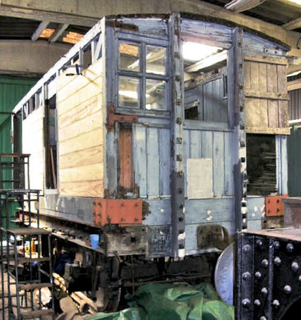 368 LNWR Brake Van - Buckinghamshire Railway Centre 19.04.09  John Bishop