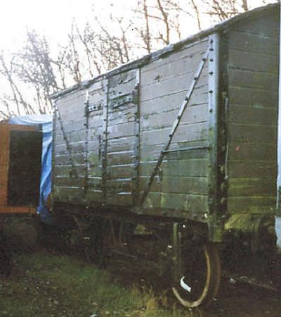 144 LYR Non Vent Van Plank - Chasewater Railway 01.11.96  John Robinson