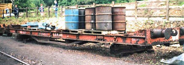 300045 CR Bogie Flat - North Yorkshire Moors Railway 11.05.11  Mark Sissons