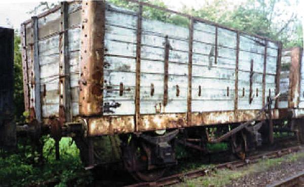 4503 NER 8 Plank Open - North Yorkshire Moors Railway 01.06.95  John Robinson