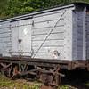 313 LNWR Non Vent Van Plank 'Ammunition Van' - Llangollen Railway 01.09.94  John Robinson