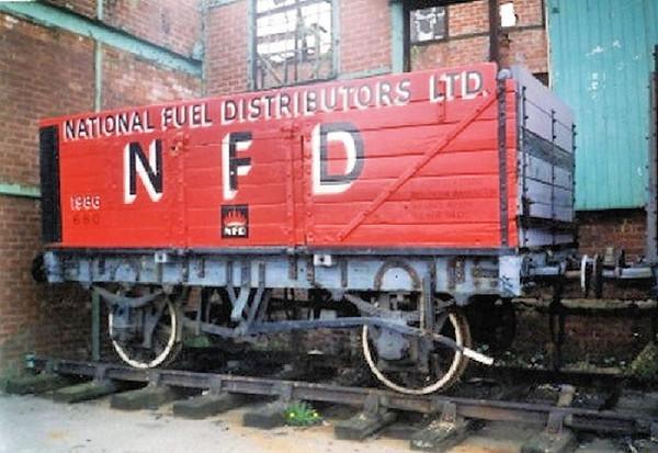 1986 7 Plank End Tippler - National Coal Mining Museum  01.04.94  John Robinson