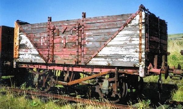 564 PO 7 Plank End Tippler - Ayrshire Railway Preservation Society  01.09.93  John Robinson