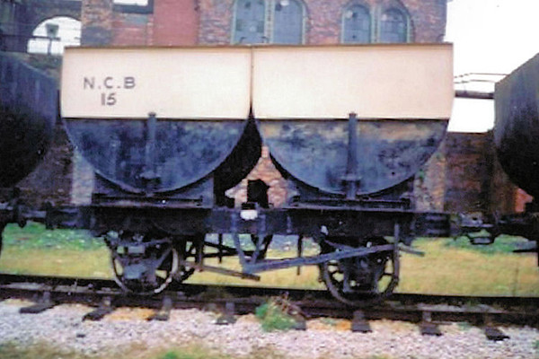 15 Double Steel Body Hopper - National Coal Mining Museum  01.04.94  John Robinson