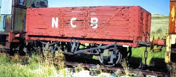 No No. PO 6 Plank Open - Ayrshire Railway Preservation Society  01.09.93  John Robinson