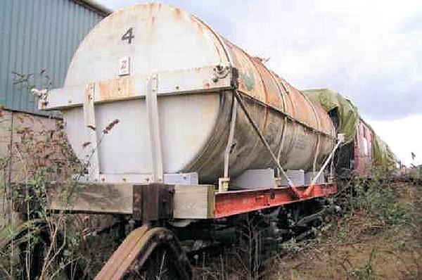 4 Chemical Tank - Boness & Kinneil Railway 04.11.06  SRPS