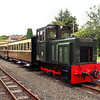 002 (10) Brecon Mountain Railway  0-6-0DH - Devils Bridge (1) Vale of Rheidol Railway 01.09.12  Simon Edwards