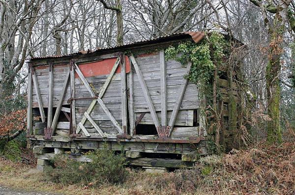 419 MR Non Vent Van Plank b/o - Bofarnel near Trebyan, Cornwall