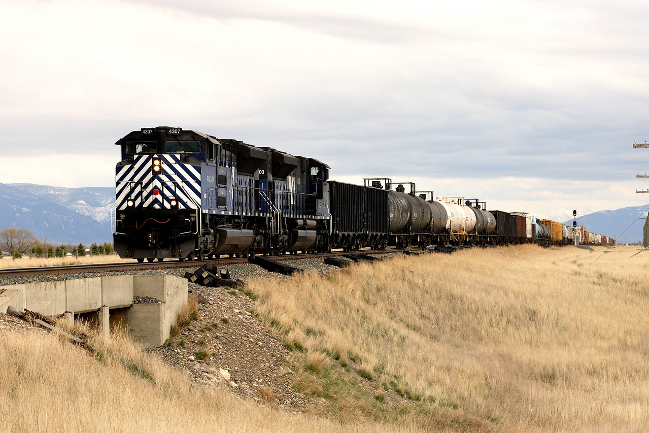 Nearing Logan, MT