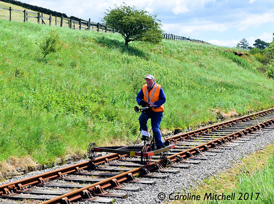 Velocipede Rally at the Eden Valley Railway, 7th June 2017