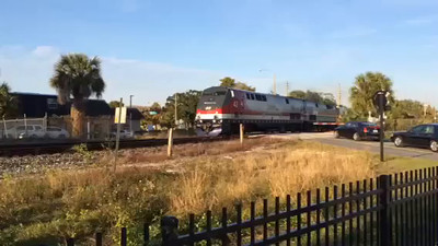 Penny Jacobs' video of the baggage train.