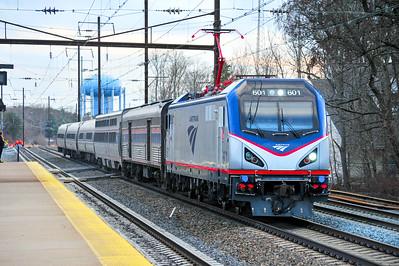 Amtrak's Cardinal makes her way to New York.