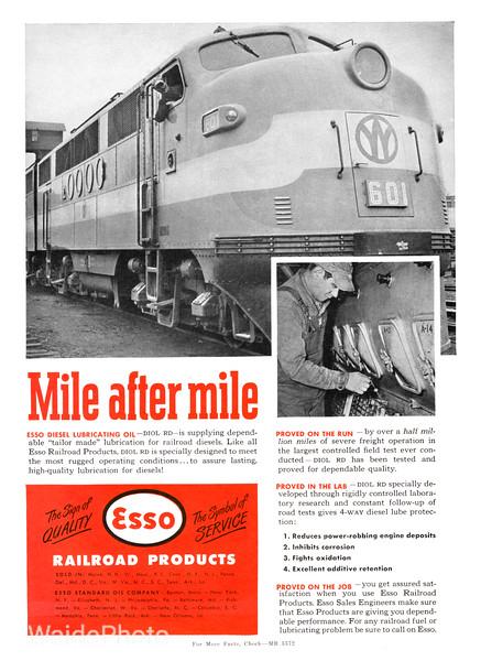 1950 Esso Standard Oil Company.