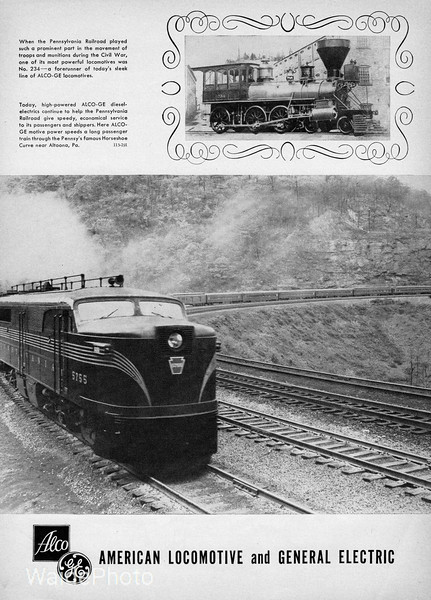 1953 Alco and General Electric.