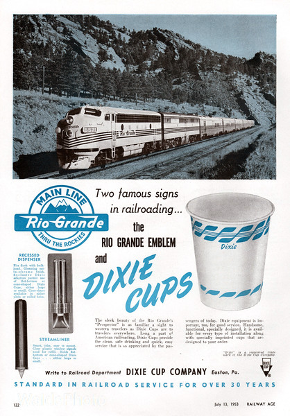 1953 Dixie Cup Company.