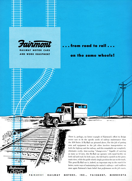 1951 Fairmont Railway Motors, Inc.
