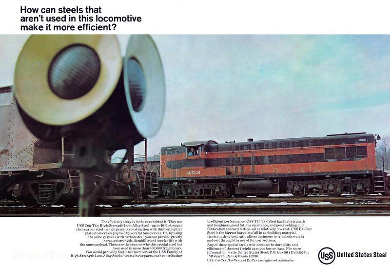 1969 United States Steel.
