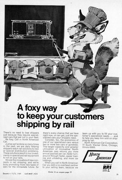 1969 North American Car Corporation.