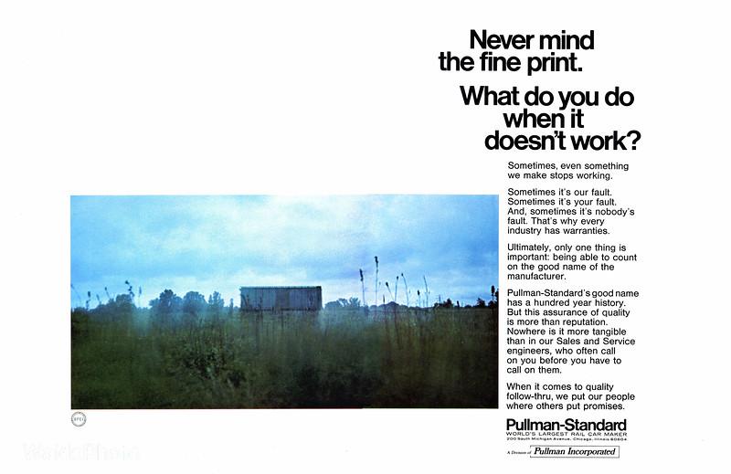 1969 Pullman-Standard.