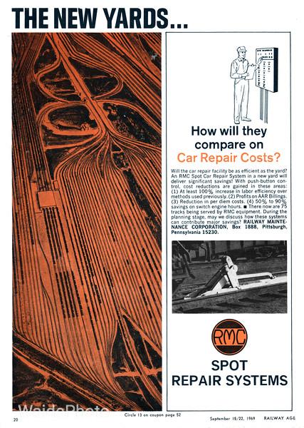 1969 Railway Maintenance Corporation.