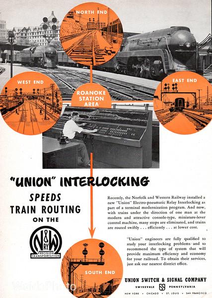 1951 Union Switch & Signal Company.