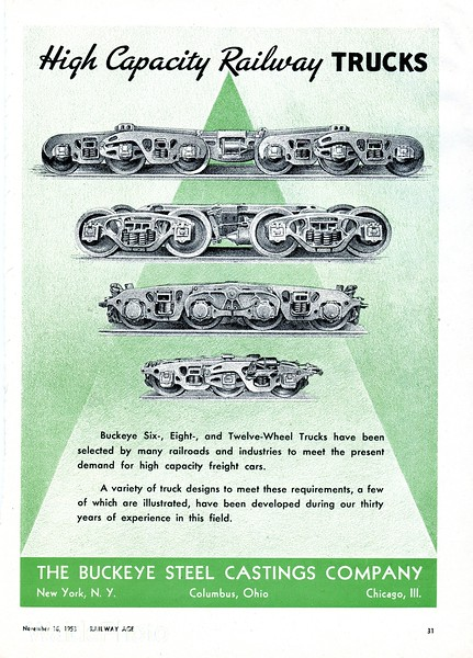1953 Buckeye Steel Castings Company.