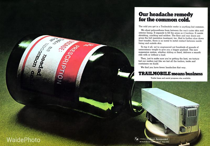 1969 Trailmobile, Pullman Incorporated.