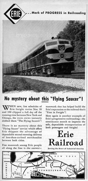 1950 Erie Railroad.
