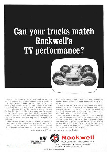 1969 Rockwell Manufacturing Company.