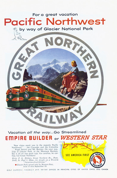 1950's Great Northern Railway.