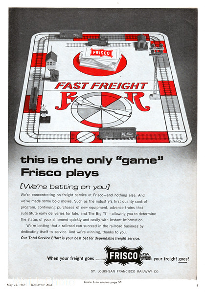 1969 St. Louis San Francisco Railway.