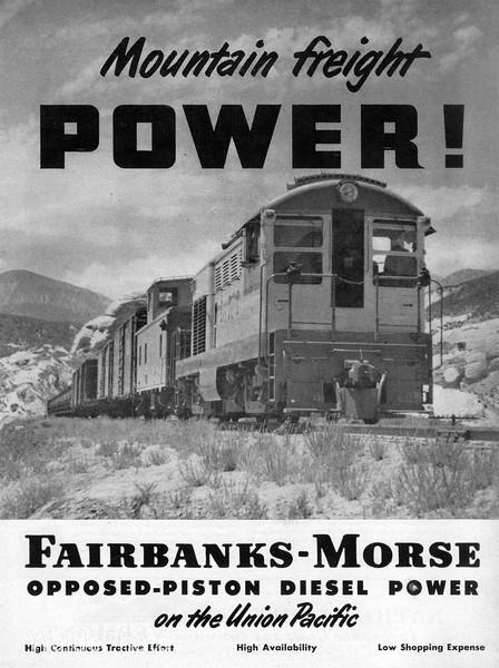 1950 Fairbanks Morse.