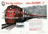 Waide Collection of Vintage Railroad Advertisements 1950 - Present : Railroad advertisements from the 1950 to 2011.
