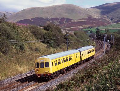 "DMU test train ""IRIS"" passes Lowgill 8/9/09."