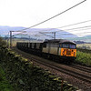 56082 thunders up Shap at Scouts Green with an empty MGR 18/4/1998.
