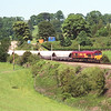 66142 rolls down towards Oxenholme with the loaded Hardendale-Margam lime's, 16/6/2000.