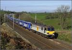 06.16 Daventry-Mossend 'Tesco Express' at Fiddler Gill.