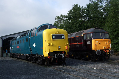 55022 Royal Scots Grey and 47798 Prince William.