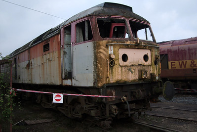 47972, stripped for spares.